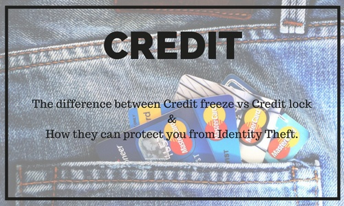 The difference between a credit freeze and credit lock can protect you from identity theft